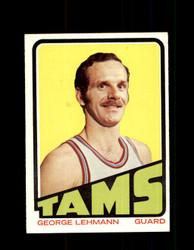 1972 GEORGE LEHMANN TOPPS #211 TAMS NM #5835