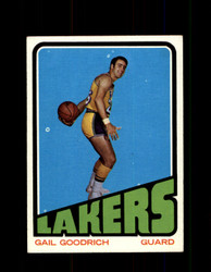 1972  GAIL GOODRICH TOPPS #50 LAKERS EXMT #5845