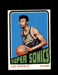 1972 LEE WINFIELD TOPPS #33 SUPERSONICS NM #5847