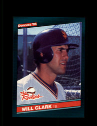 1986 WILL CLARK DONRUSS #32 THE ROOKIES GIANTS NM/MT #5954