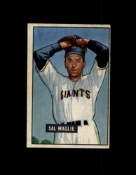 1951 SAL MAGLIE BOWMAN #127 RC GIANTS EX #6420