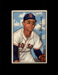 1952 WALT MASTERSON BOWMAN #205 REDSOX VG-EX #6433