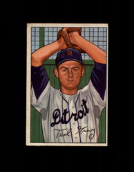 1952 TED GRAY BOWMAN #199 TIGERS EX #6437