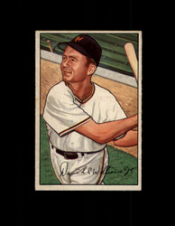 1952 DAVE WILLIAMS BOWMAN #178 GIANTS VG/EX #6438