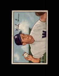 1952 MICKEY GRASSO BOWMAN #174 SENATORS VG/EX #6440