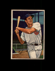 1952 DICK SISLER BOWMAN #127 REDS EX #6448