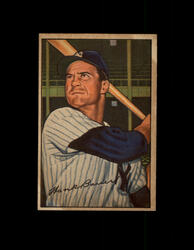 1952 HANK BAUER BOWMAN #65 YANKEES EXMT #6466