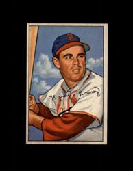 1952 PEANUTS LOWREY BOWMAN #102 CARDINALS EXMT #6461