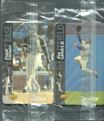 1995 KEN GRIFFEY FRANK THOMAS PAIR UPPER DECK GTS PHONE CARD #/2500