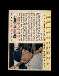 1963 RICHIE ASHBURN POST CEREAL #197 METS #6561
