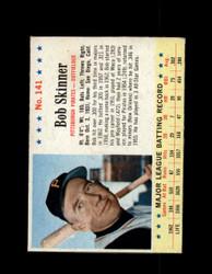1963 BOB SKINNER POST #141 PIRATES VG/EX #6559
