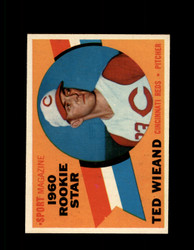 1960 TED WIEAND TOPPS #146 ROOKIE STAR REDS NM-NMMT #6720