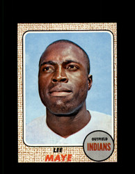 1968 LEE MAYE TOPPS #94 INDIANS NM/MT-MT #6771