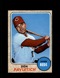 1968 DON PAVLETICH TOPPS #108 REDS NM/MT-MT #6769