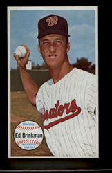 1964 ED BRINKMAN TOPPS GIANT #27 SENATORS NM