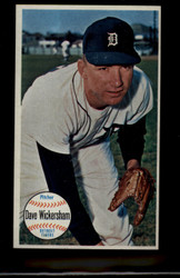 1964 DAVE WICKERSHAM TOPPS GIANT #35 TIGERS NM