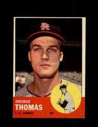 1963 GEORGE THOMAS #98 ANGELS EXMT #5548