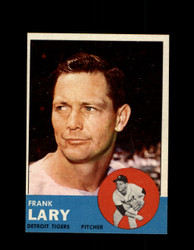 1963 FRANK LARY TOPPS #140 TIGERS NM #5442