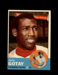 1963 JULIO GOTAY TOPPS #122 PIRATES EXMT #7981