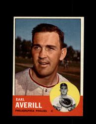 1963 EARL AVERILL TOPPS #139 PHILLIES NM/MT #5777