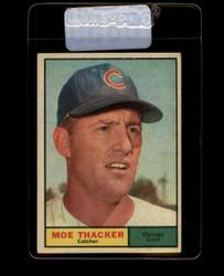 1961 MOE THACKER TOPPS #12 CUBS EX/EXMT #6859