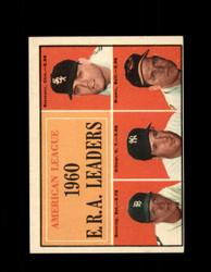 1961 AL BATTING LEADERS TOPPS #46 DITMAR BUNNING NM *6972