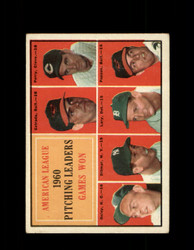 1961 AL BATTING LEADERS TOPPS #48 PERRY PAPPAS DITMAR VG *6978