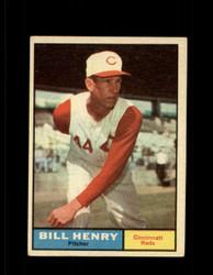 1961 BILL HENRY TOPPS #66 REDS EX *7038