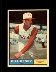 1961 BILL HENRY TOPPS #66 REDS EX *7041
