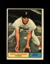 1961 DON BUDDIN TOPPS #99 RED SOX EXMT #7151