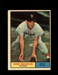 1961 DON BUDDIN TOPPS #99 RED SOX EX #7153