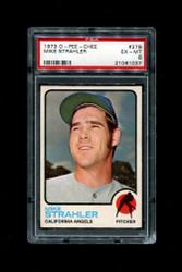 1973 MIKE STRAHLER  OPC #279 O PEE CHEE BASEBALL PSA 6
