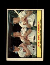 1961 A'S BIG ARMOR TOPPS #119 SIEBERN BAUER EX #7219