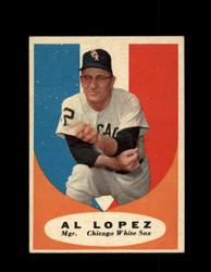 1961 AL LOPEZ TOPPS #132 WHITE SOX  EXMT *7270