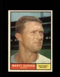 1961 MARTY KEOUGH TOPPS #146 SENATORS EXMT *7315
