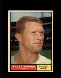 1961 MARTY KEOUGH TOPPS #146 SENATORS EX *7317
