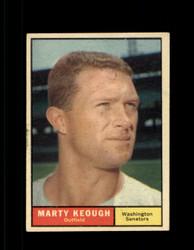 1961 MARTY KEOUGH TOPPS #146 SENATORS VG/EX *7318