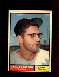 1961 EARL TORGESON TOPPS #152 WHITE SOX EXMT *7341