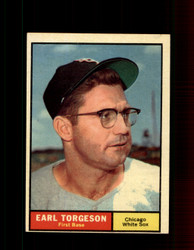 1961 EARL TORGESON TOPPS #152 WHITE SOX EXMT *7342