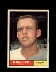 1961 DON LEE TOPPS #153 TWINS EX *7349