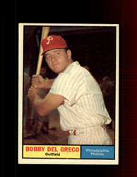 1961 BOBBY DEL GRECO TOPPS #154 PHILLIES EX/EXMT *7351