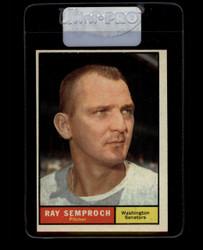 1961 RAY SEMPROCH TOPPS #174 SENATORS EX *7426