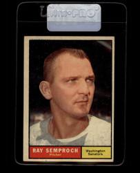 1961 RAY SEMPROCH TOPPS #174 SENATORS EX *7430