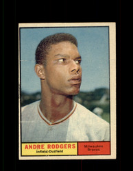 1961 ANDRE RODGERS TOPPS #183 BRAVES EX/EXMT *7461