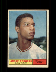 1961 ANDRE RODGERS TOPPS #183 BRAVES EX *7463