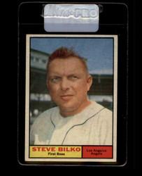 1961 STEVE BILKO TOPPS #184 ANGELS EX/EXMT *7464