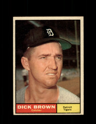 1961  DICK BROWN TOPPS #192 TIGERS NM *7500