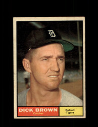 1961  DICK BROWN TOPPS #192 TIGERS EXMT *7501
