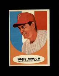 1961 GENE MAUCH TOPPS #219 MGR PHILLIES VG/EX *7614