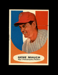 1961 GENE MAUCH TOPPS #219 MGR PHILLIES VG *7615